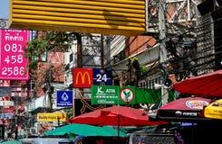 Bangkok, Thailand: Khao San Road Signs Stock Images