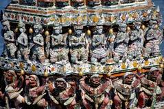 Bangkok, Thailand: Khong Abbildungen bei Wat Arun Stockfotografie