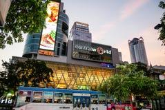BANGKOK, THAILAND - 12. MÄRZ 2017: CentralWorld, das größte SH Lizenzfreies Stockbild