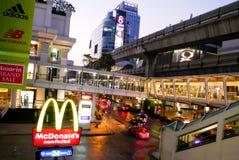 BANGKOK, THAILAND - 12. MÄRZ 2017: McDonald-` s bei Ratchaprasong Stockfoto