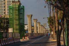 Bangkok, Thailand - 3. März 2017: Neue Grüne Grenzen von Bangkok BT Stockbilder