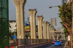 Bangkok, Thailand - 3. März 2017: Neue Grüne Grenzen von Bangkok BT Lizenzfreies Stockfoto