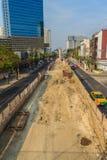 Bangkok, Thailand - 3. März 2017: Neue Grüne Grenzen von Bangkok BT Lizenzfreies Stockbild