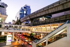 BANGKOK, THAILAND - 12. MÄRZ 2017: Ratchaprasong-Schnitt, Lizenzfreie Stockbilder