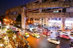 BANGKOK, THAILAND - 12. MÄRZ 2017: Ratchaprasong-Schnitt, Lizenzfreie Stockfotografie