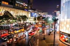 BANGKOK, THAILAND - 12. MÄRZ 2017: Ratchaprasong-Schnitt, Stockfotos