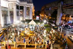 BANGKOK, THAILAND - 12. MÄRZ 2017: Ratchaprasong-Schnitt, Stockbild