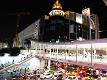 BANGKOK, THAILAND - 12. MÄRZ 2017: Ratchaprasong-Schnitt, Stockfotografie