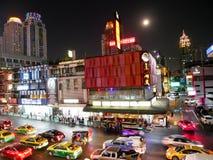 BANGKOK, THAILAND - 12. MÄRZ 2017: Ratchaprasong-Schnitt, Lizenzfreie Stockfotos