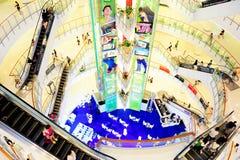 Het winkelen plein Stock Foto's