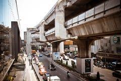 BANGKOK, THAILAND, 28 MAART, de Hemeltrein van 2013 binnen Royalty-vrije Stock Afbeeldingen