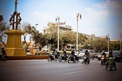 BANGKOK, THAILAND, 28 MAART, de Straat van 2013 met Royalty-vrije Stock Foto