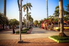 BANGKOK, THAILAND, 2013 30 MAART het parkstad van Siam Stock Foto's