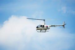 BANGKOK THAILAND - MAJ 12: En Klocka helikopter Royaltyfri Foto