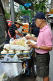 Bangkok, Thailand: Man Buying Street Food Royalty Free Stock Photo