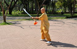 Bangkok, Thailand: Man Doing Tai 'Chi Stock Photography