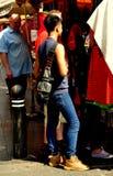 Bangkok, Thailand: Man in Skin-Tight Jeans Stock Images