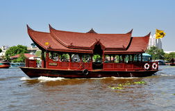 Bangkok, Thailand: Mandarin Oriental Hotels Ferry  Stock Photos