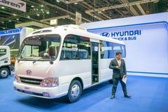 Hyundai  Car at The 40th Thailand International Motor Show royalty free stock photo