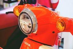 Bangkok,thailand-march 3, 2019:Motor bike detail motorcycle was shown at shopping mall royalty free stock image
