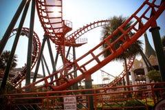 BANGKOK,THAILAND 2013 MARCH 30 Roller Coaster Royalty Free Stock Image