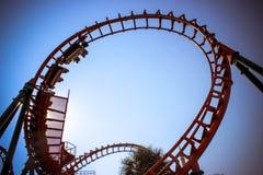 BANGKOK,THAILAND 2013 MARCH 30 Roller Coaster Royalty Free Stock Images