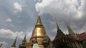 Bangkok, Thailand - March 6, 2018 : Wat Phra Si Rattana Satsadaram.  stock footage