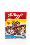 BANGKOK, THAILAND - MAY 27, 2016 :  Cereal box brand kelloggs is Stock Photography