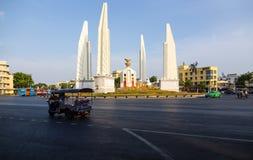 Bangkok,Thailand-May 6,2019:Cityscape of Democracy monument is a public monument in the centre of Bangkok,one of landmark. Anusawari PrachathipataiDemocracy royalty free stock photography