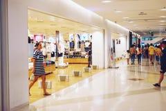 Bangkok Thailand-May 12,2109: fashion Shopfront at shopping mall stock photography