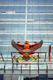 BANGKOK, THAILAND - 29 MAY: The national emblem of Thailand in a Royalty Free Stock Photography