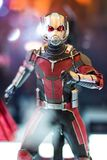 Bangkok, Thailand - May 6, 2017 : portrait shot of Ant man model in Avengers movie on display at Central World, Bangkok Thailand. stock photo