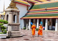 Bangkok, Thailand - May 25, 2014: Wat Pho,Temple of the Reclining Buddha in Bangkok, Thailand Stock Photos