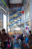 Bangkok, Thailand : MBK shopping mall centre inside Royalty Free Stock Photos