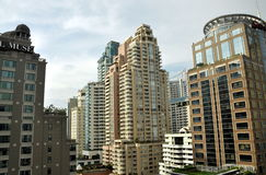 Bangkok, Thailand: Modern Apartment Towers Royalty Free Stock Photos
