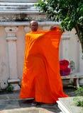 Bangkok, Thailand: Monk at Wat Ratchanadda Stock Photos