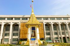 Beauty The Royal Crematorium Replica at Bangkok Metropolitan Administration. BANGKOK, THAILAND - Nov 04,2017 -Beauty The Royal Crematorium Replica at Bangkok Stock Photography