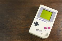 Free Bangkok, Thailand November 6 , 2019  Image Vintage Portable Game Nintendo Gameboy Royalty Free Stock Photos - 163155268
