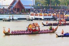 BANGKOK, THAILAND - NOVEMBER 6: Thai Royal barge. Travel down Chao Phaya river to celebrate King of Thailand 85th birthday (December 5, 2012) in Bangkok Stock Image