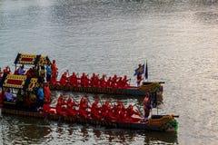 BANGKOK, THAILAND - NOVEMBER 6: Thaise Koninklijke aak Royalty-vrije Stock Foto