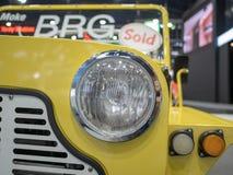 Bangkok, Thailand - 30. November 2018: Auto von BRG-Gruppe an Bewegungsausstellung 2018 Thailands internationaler BEWEGUNGSausste stockfotos