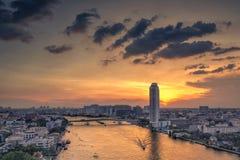 Bangkok Thailand-November 16 Dyr andelslägenhet för Junladit flod på dusen Arkivfoto