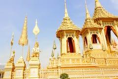 Bangkok Thailand - November 04, 2017; Guld- härligt av någon su Arkivfoton