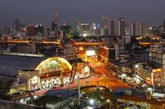 BANGKOK, THAILAND - NOVEMBER 17, 2015 : Hua Lom Phong Bangkok Railway Station Royalty Free Stock Photos