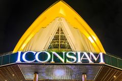 Bangkok, Thailand - November 9, 2018 : ICONSIAM shopping mall lo royalty free stock photos