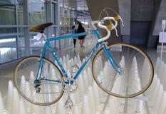 Bangkok, Thailand - November 23, 2012: Italiaanse uitstekende fiets MASI Royalty-vrije Stock Fotografie