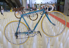 Bangkok, Thailand - November 23, 2012: Italiaanse uitstekende fiets MASI Stock Afbeeldingen