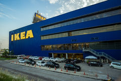 Bangkok, Thailand - 28 November 2015 : The Landscape of the First Ikea Store of Thailand at Mega Bangna Shopping Mall. The Landscape of the First Ikea Store of Stock Image
