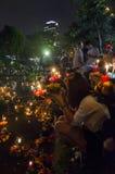 BANGKOK THAILAND - NOVEMBER 25 : Loy Krathong festival Royalty Free Stock Image