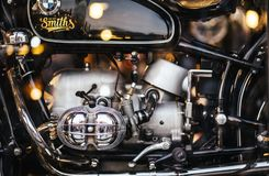 BANGKOK, THAILAND: 4 NOVEMBER, 2018: Motor van uitstekend BMW motorc stock afbeelding